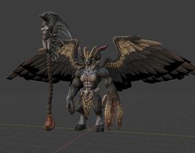 3D model Baphomet Demon