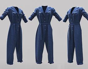 3D asset Female Clothing 15