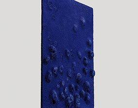 3D Das Daue Schwammrelief by Yves Klein