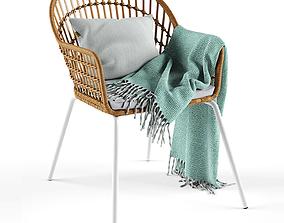Armchair Nilsove Ikea 3D