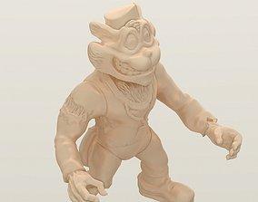3D print model 1993 Teenage Mutant Ninja Turtles Scratch
