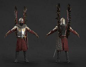 3D model Polish Hussar