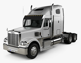 Freightliner Coronado Sleeper Cab Tractor Truck 2009 3D