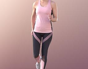 Juliette 10820 - Running Girl 3D asset
