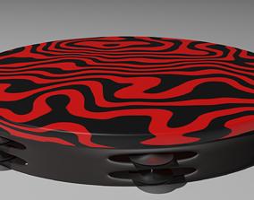 3D Pewdiepie Tambourine
