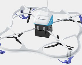 3D Amazon Prime Air Delivery Drone