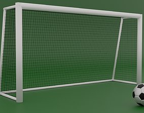 Football-Soccer Goal 3D