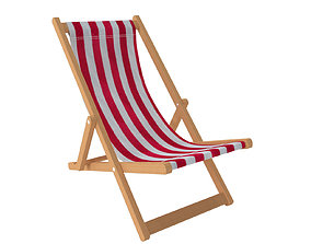 Deck Chair 3D summer