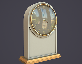 3D Animated Mantle Clock