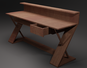 3D model realtime Table wooden