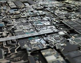 3D model Microchips