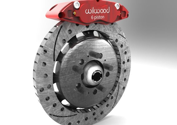 High Poly Wilwood Disc Brakes