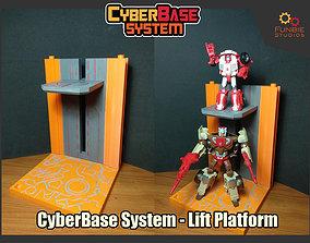 CyberBase System Lift Platform 3D printable model