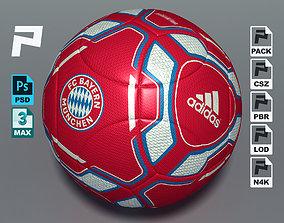 Adidas Torfabrik Bayern Munich Soccer Ball 3D asset