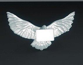 Carrier Pigeon 3D print model