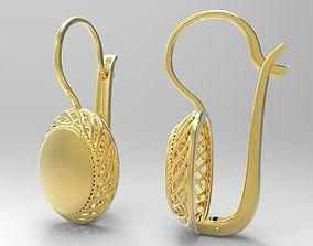 3D printable model Braided earrings