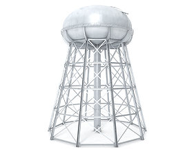 3D model Water Storage Tower
