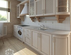 Kitchen lunchroom 3D model