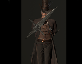 Inquisitor 3D asset rigged