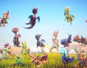 Little Dragons Tiger 3D model