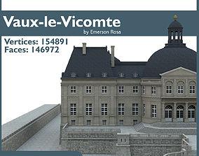 3D model Chateau de Vaux-le-Vicomte