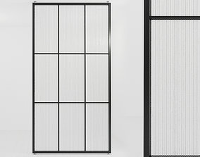 3D asset Glass partition door 466