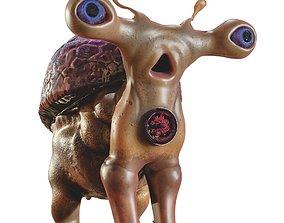 sci-fi Animals 3D asset