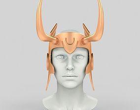 3D print model Loki lady helmet