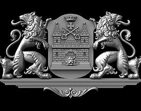 3D print model Riga coat of arms for CNC