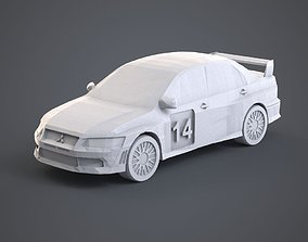 3D printable model Mitsubishi Lancer