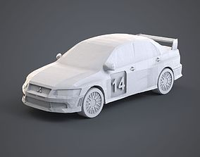 3D printable model Mitsubishi Lancer