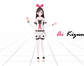 Ai Kizuna 3d Model rigged game-ready