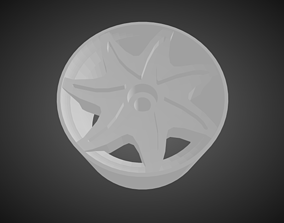 3D printable model Forgiato Fiorito rims for Hot Wheels