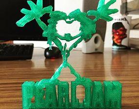 Pearl Jam Alive Logo 3D print model