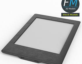 eBook reader 3D model