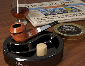 Smoking Pipe Peterson 3D model