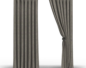 3D Curtains with eyelets