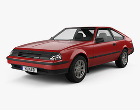 Toyota Celica liftback 1981 3D model