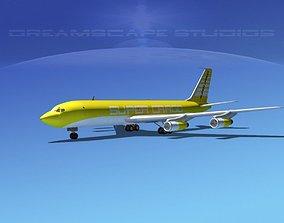 3D Boeing 707 Super Cargo