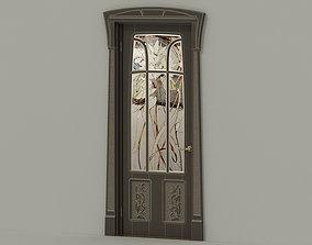 Door stained glass 3D model