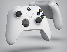 XBOX SERIES S CONTROLLER 3D model animated