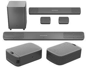 Soundbar JBL Bar 9 1 True Wireless Surround 3D model