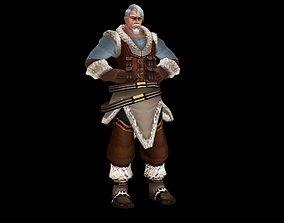 3D model Mongolian Wrestling Hercules