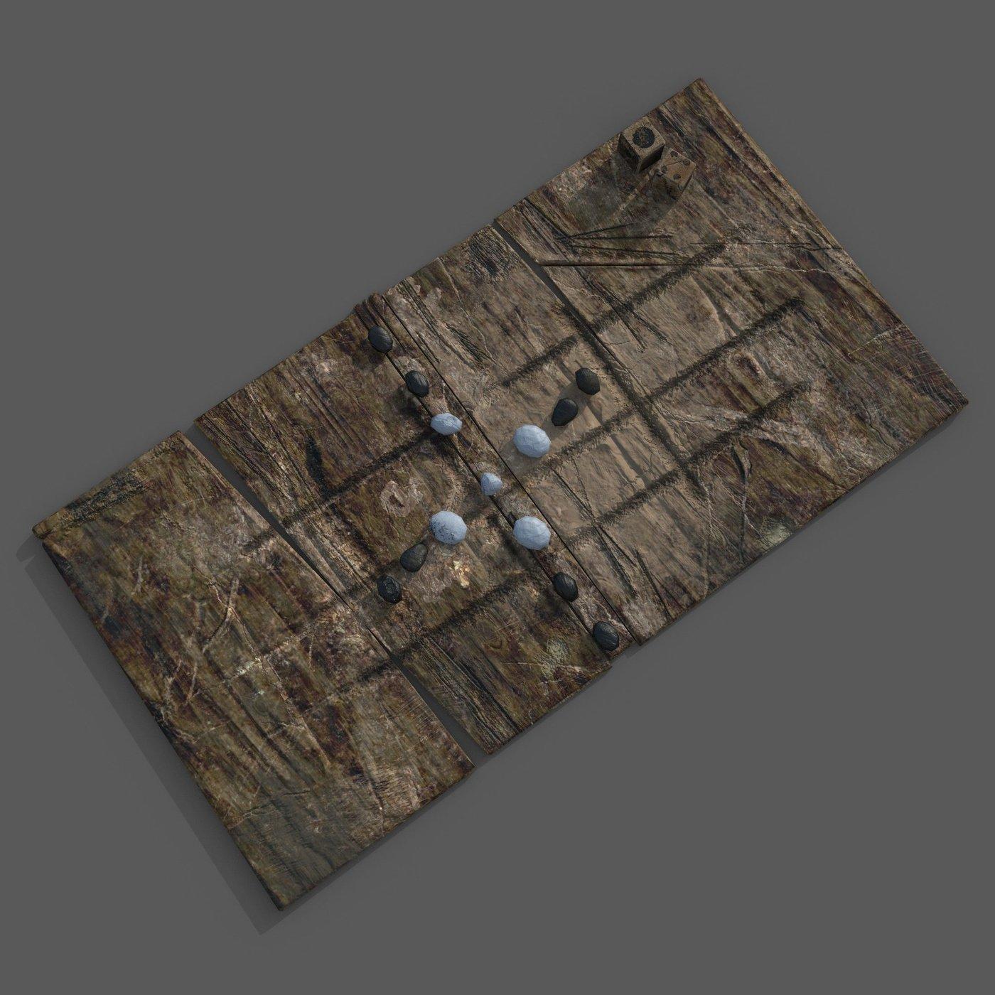 Medieval game board