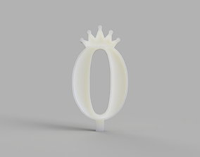3D print model Birthday Candles Mould for Silicone 2