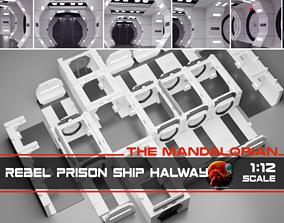 3D The Mandalorian - Rebel Prison Ship 1-12 scale
