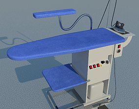 Industrial ironing table 3D model