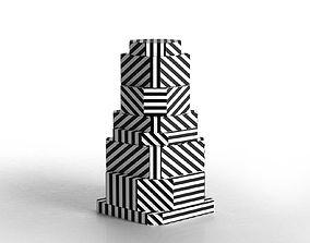 Ziggurat Containers 3D display