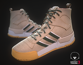 3D asset Sneaker Adidas Boot