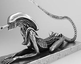art Alien HR Giger sci-fi Model